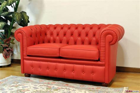 divano chesterfield rosso divano chesterfield con misure ridotte chesterino