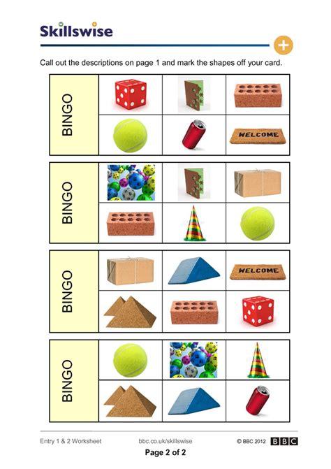 printable shapes bingo 3d shape bingo pictures to pin on pinterest thepinsta