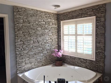 Bathroom Granite Ideas stone tile bathroom floor double clear glass shower bath