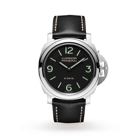 panerai luminor base 8 days selector watches of