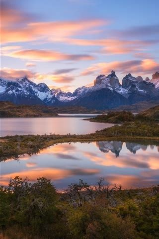 wallpaper south america chile patagonia andes mountains