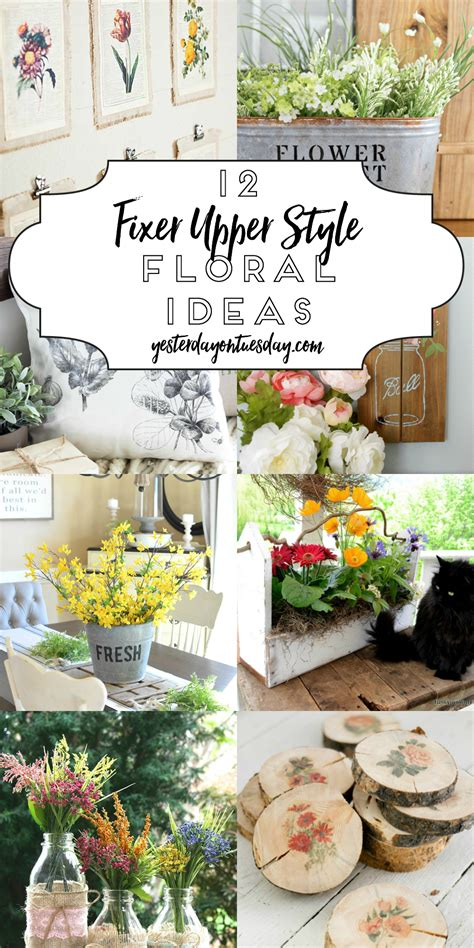 floral decor a dozen fixer upper style tray ideas yesterday on tuesday