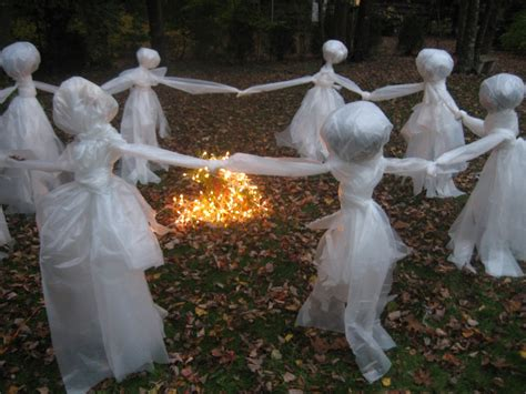 Outdoor Ghost Decorations by Lawn Ghost Re Post The Pink Pixie Forest