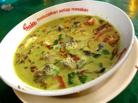 resep soto kuning bogor tips enak resep masakan