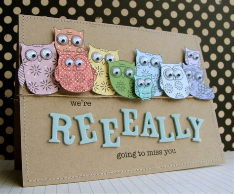 Owl Miss You Card Template by 8 Best Images About Cards2 On My Owl