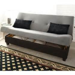 Sleeper Futon With Storage Klik Klak Marvin Sleeper Futon With Storage Sears Sears Canada 499 99 Decorating