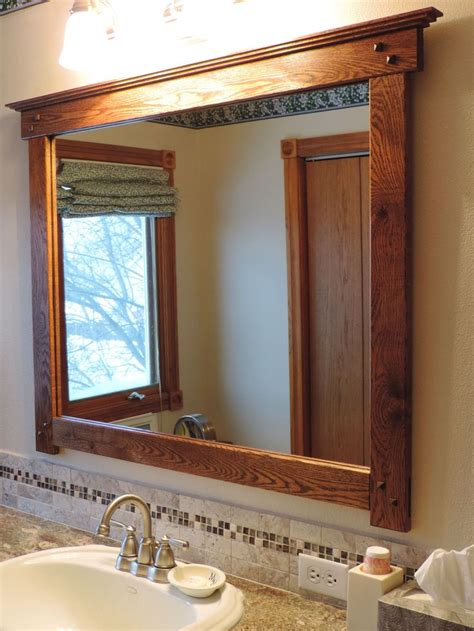 Bathroom Mirror Styles 1000 Ideas About Craftsman Mirrors On Mission Furniture Wall Mirrors And Quarter