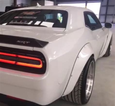 widebody demon widebody dodge demon looking challenger srt hellcat