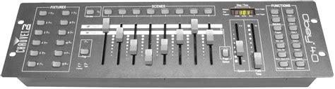 dmx light board controller chauvet obey 40 universal dmx light controller pssl