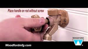 Leaking Outdoor Faucet Woodford Model 17 Outdoor Faucet Repair Kit Installation