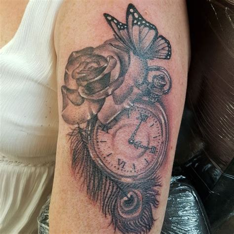 time piece tattoo the 25 best time ideas on clock