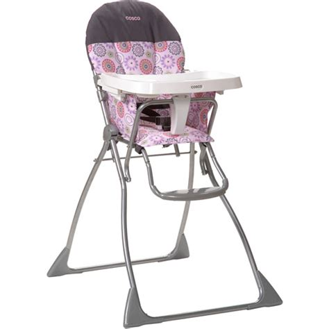 Cosco Folding High Chair by Cosco Flat Fold High Chair Margo Walmart