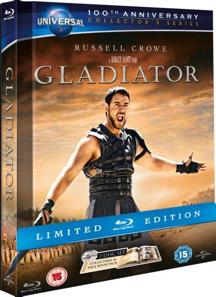 gladiator digibook edition blu ray zavvicom