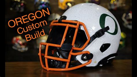 football helmet design builder helmet build oregon win the day custom riddell speed
