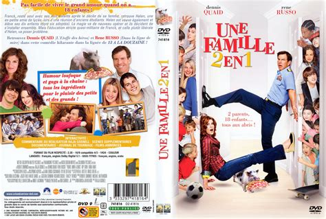 film streaming nouveauté jaquette dvd de une famille 2 en 1 cin 233 ma passion