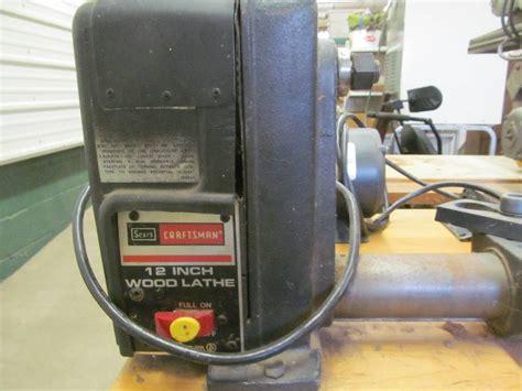 craftsman wood lathe jax  benson sale   bid