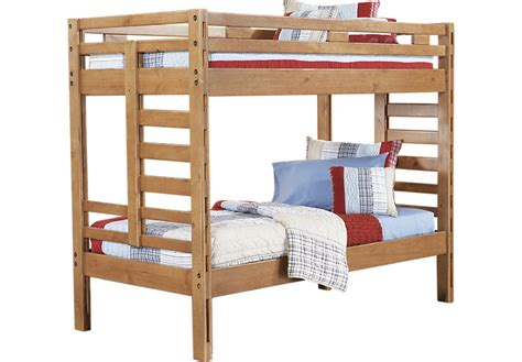 Bunk Beds Rooms To Go Creekside Taffy Bunk Bed Beds Light Wood