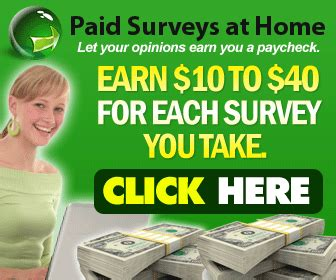 Paid Surveys Reviews - paid surveys at home