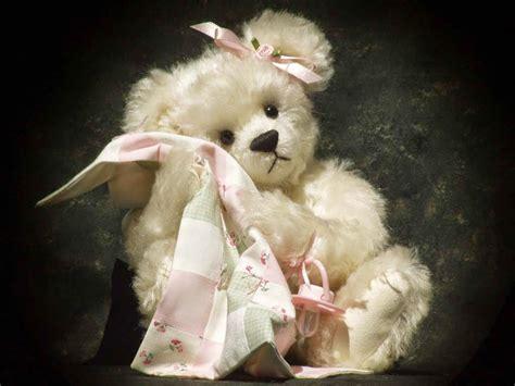 lovely white lovely white teddy bear wallpaper 19138 wallpaper cool