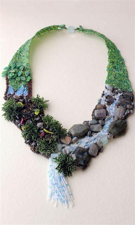 beading gem jewelry design ideas