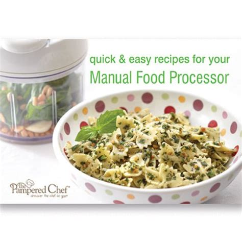 images  pampered chef manual food processor