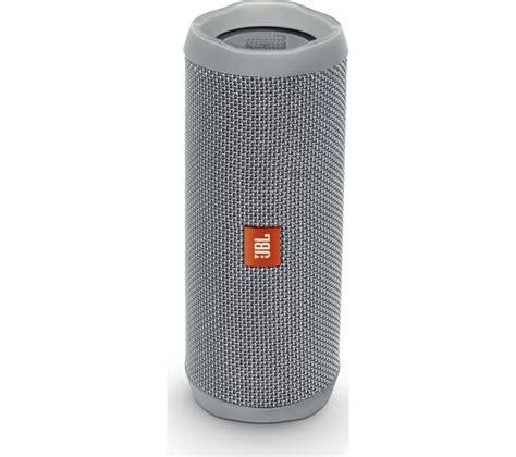 Speaker Bluetooth Jbl buy jbl flip 4 portable bluetooth wireless speaker grey free delivery currys