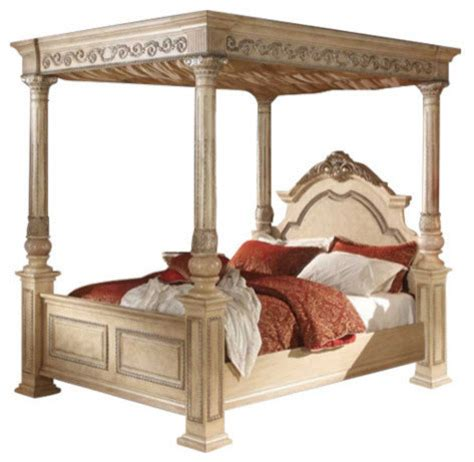 victorian canopy bed sienna antique white bed victorian canopy beds by