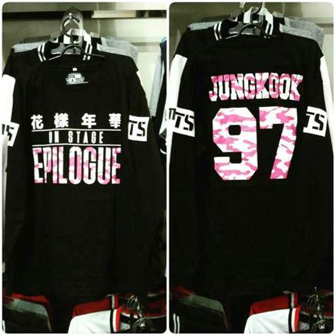 Kaos Lengan Panjang Wanita Bts Hitam jual tshirt kaos baju bts epilogue lengan panjang sm k pop shop