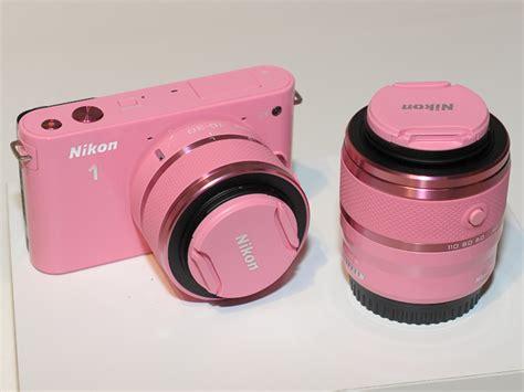 Kamera Nikon J1 Pink nikon pink image 642297 on favim