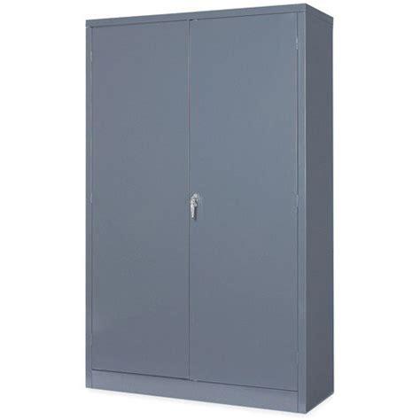 48 Inch Storage Cabinet by Edsal Rta9000gy 48 Inch Wide By 18 Inch By 78 Inch