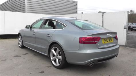 Audi A5 3 Litre Tdi by Used 2010 Audi A5 3 0 Tdi Quattro S Line 5dr S Tronic For