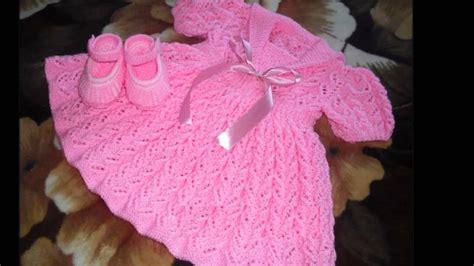 vestidos para bebes de tejido vestidos tejidos a crochet bebe youtube