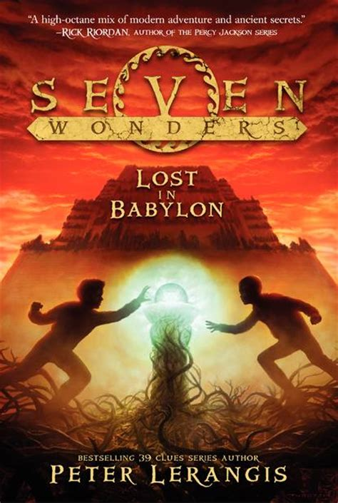 lost in babylon seven wonders 2 by lerangis