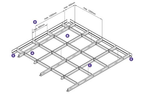Ceiling Tile Grid System by Ceiling Tile Grid System