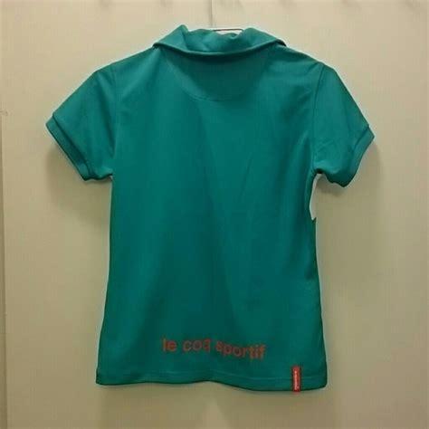 Polo Shirt Le Coq Sportif 88 le coq sportif tops le coq sportif golf polo