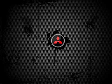 mitsubishi logo wallpaper mitsubishi logo black image 119