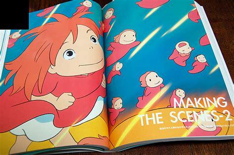 ponyo picture book of ponyo production artbook miyazaki hayao 171 anime