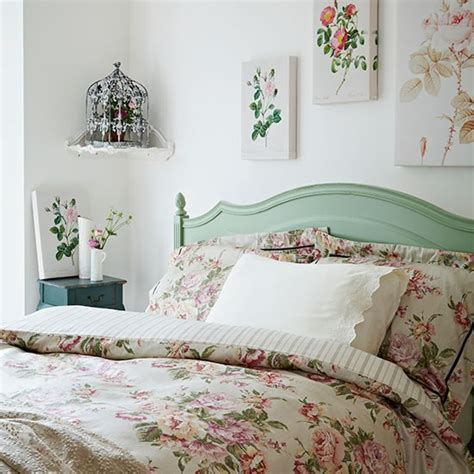vintage inspired bedrooms rose print bedroom vintage bedroom style housetohome co uk