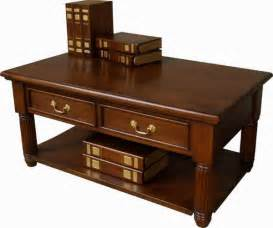 Solid Mahogany Coffee Table Lock Stock And Barrel Coffee Tables