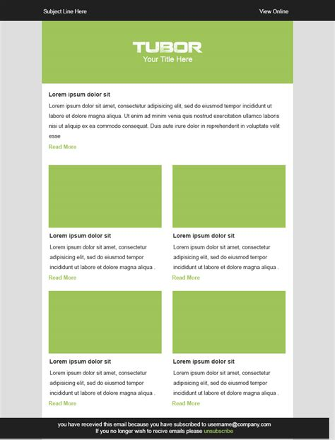 Go Responsive With 7 Free Email Templates From Stlia Litmus Blog Litmus Newsletter Templates
