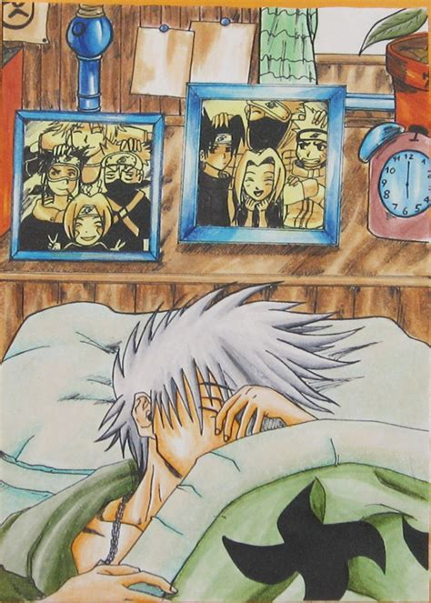 Sleep Mask Kakashi kakashi s unmasked possibly official rebrn