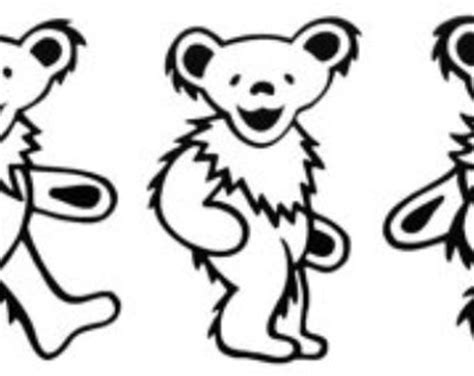 grateful dead dancing bear clipart clipart collection