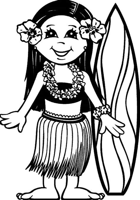 hawaiian boy coloring page the gallery for gt hawaiian boy coloring pages