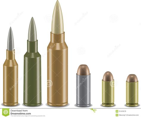 3d vector ammo set royalty free stock images image 31416579