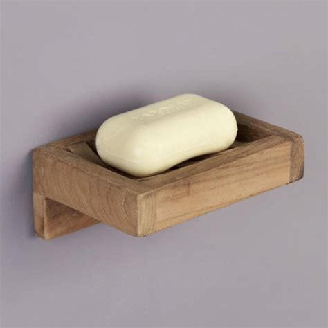 Soap Wallet teak wall mount soap holder soap dishes and dispensers bathroom accessories bathroom