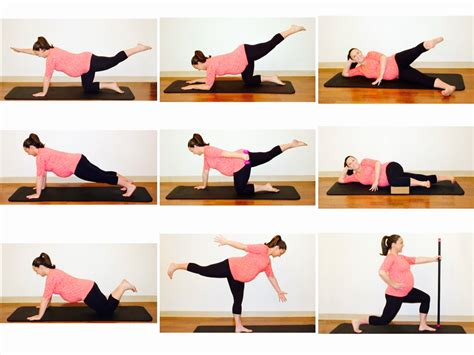 prenatal exercises at home www imgkid the image