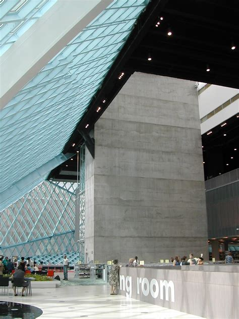 Seattle Library Interior by Splendid Design Seattle Library