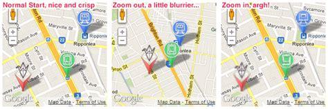design google maps api google maps api v3 9 blurry custom markers when zooming