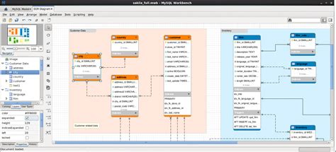 database design for manufacturing mysql mysql workbench visual database design