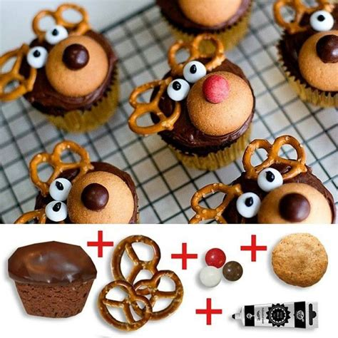easy christmas cupcake decorating ideas cupcake